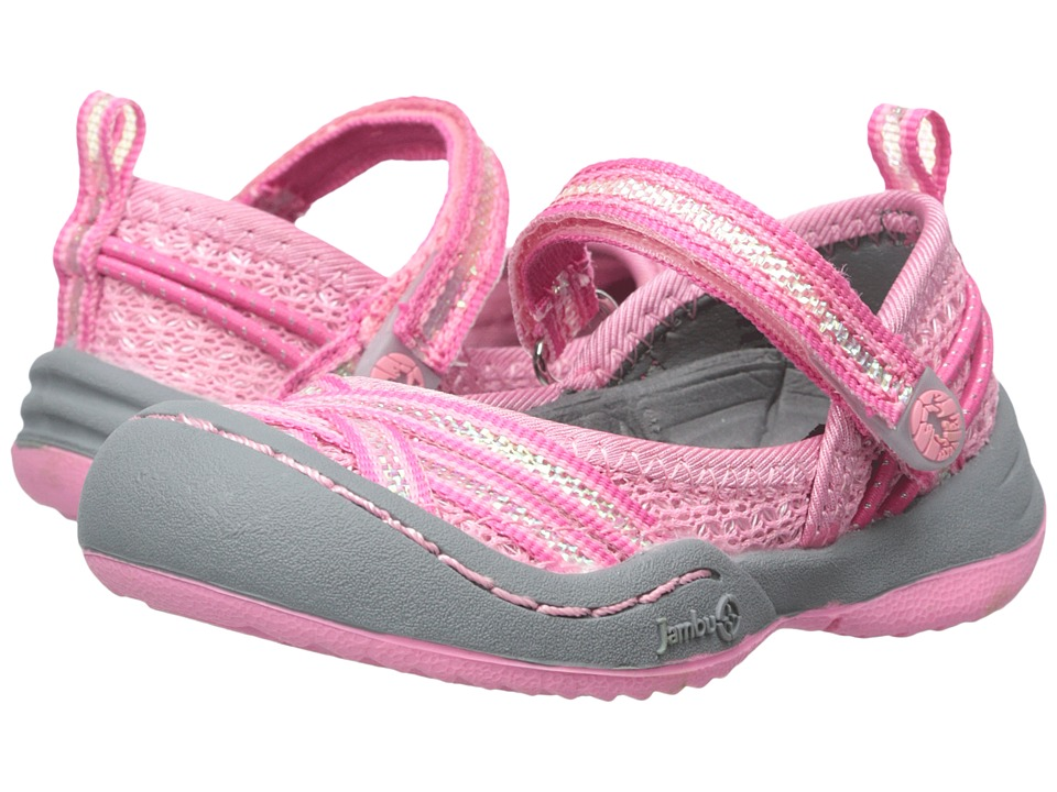 Jambu Kids Fia 3 Toddler Macaron Girls Shoes