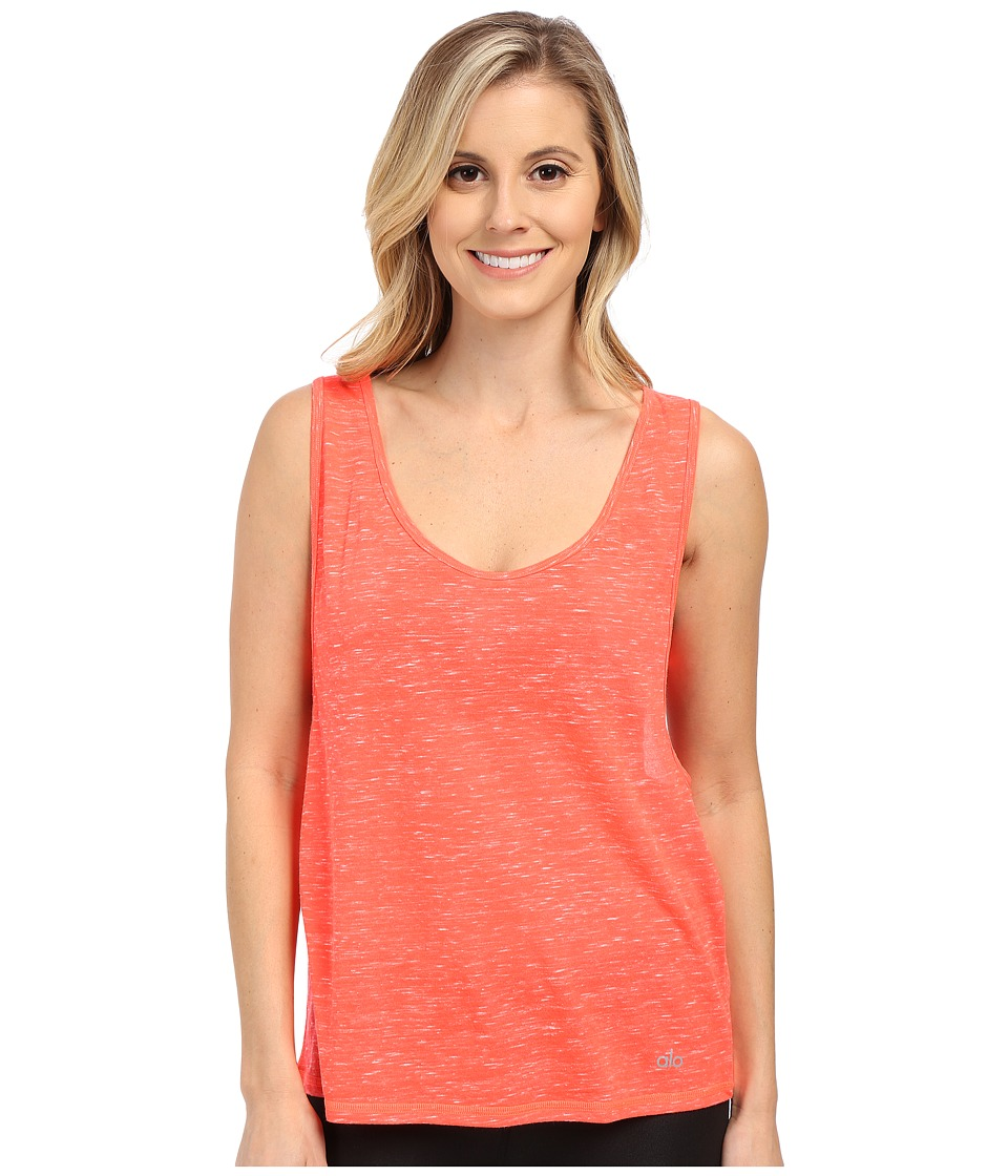 ALO Marina Tank Top Volcano Marble Womens Sleeveless
