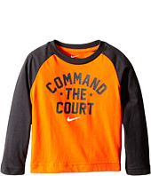 Nike Kids - Command the Court Long Sleeve Tee (Toddler)