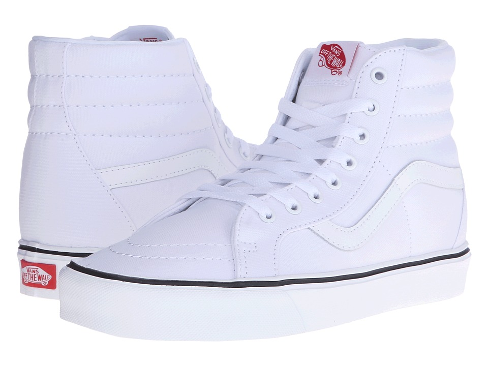 Vans - Sk8-Hi Lite + ((Canvas) True White) Men
