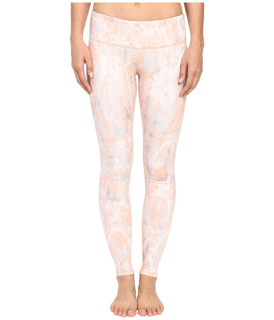 ALO Airbrushed Legging Tropical Peach Python Womens Workout