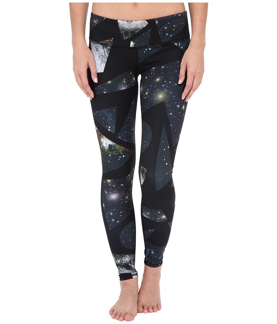 ALO Airbrushed Legging Vapor Grey Space Dye Womens Workout
