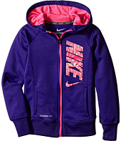 Nike Kids - KO 3.0 GFX Full Zip Hoodie (Little Kids)
