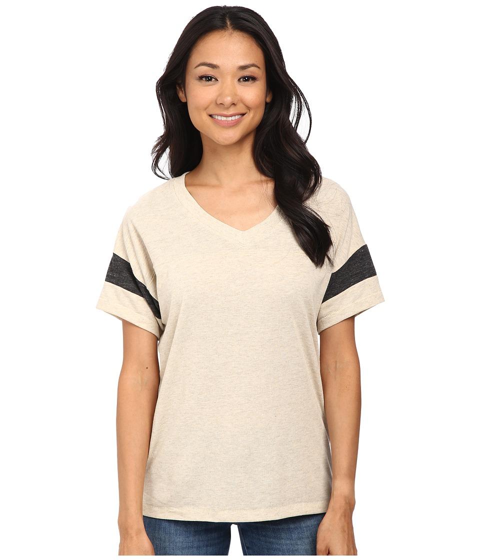 Alternative Powder Puff Tee Eco Stone/Eco Black Womens T Shirt
