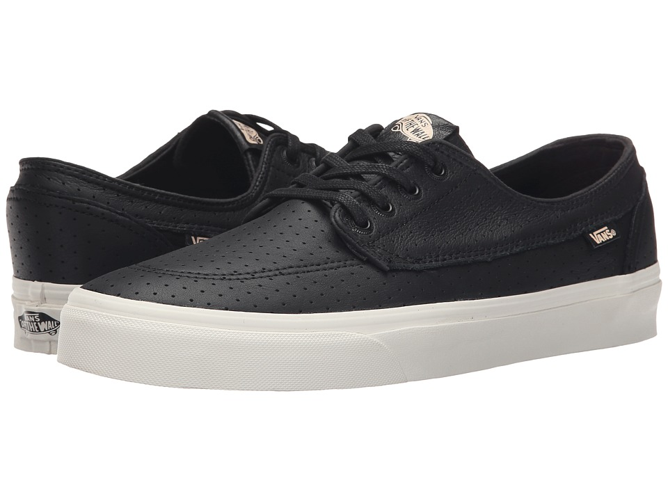 Vans - Brigata + ((Perf Leather) Black) Men