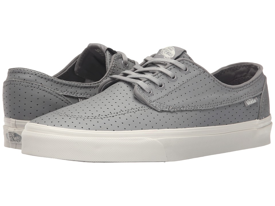 Vans - Brigata + ((Perf Leather) Grey) Men