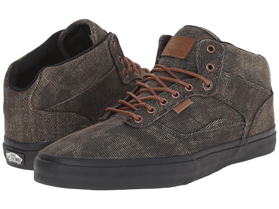Vans - Bedford + ((Acid Denim) Black/Black) Mens Skate Shoes