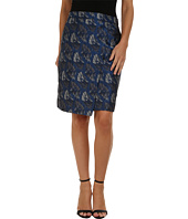 Anne Klein - Faux Wrap Skirt
