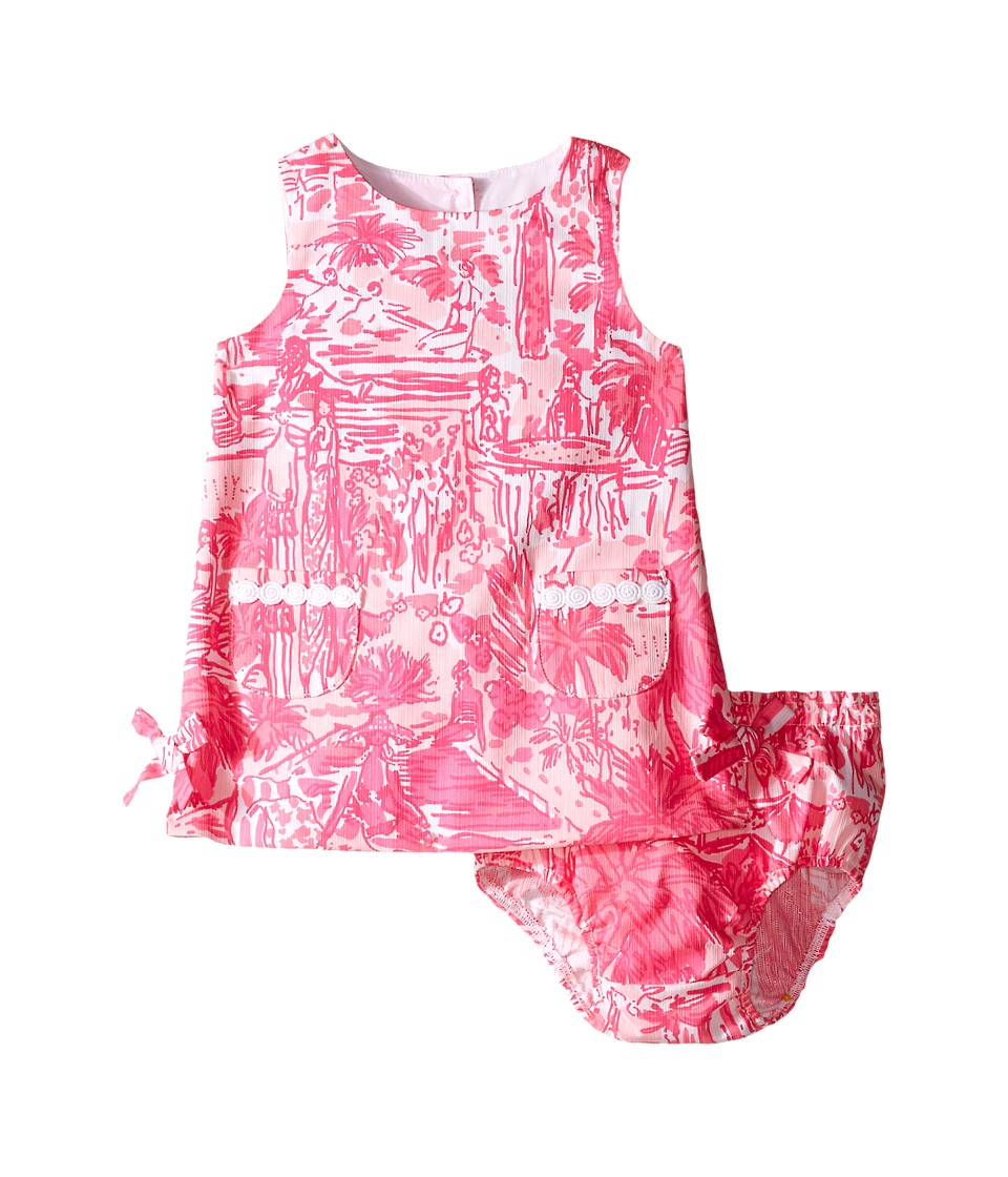 Lilly Pulitzer Kids Baby Lilly Shift Dress Infant Paradise Pink Rule Breakers Girls Dress