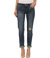 KUT from the Kloth - Catherine Boyfriend Jeans in Adopt/Dark Stone Base