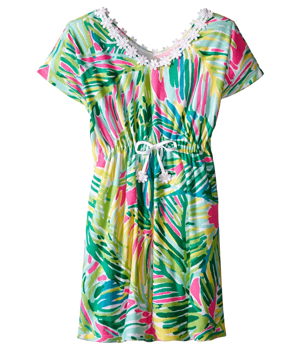 Lilly Pulitzer Kids Chloe Caftan Cover Up Toddler/Little Kids/Big Kids Tropical Pin Girls Dress