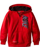 Nike Kids - KO 2.0 GFX 1/2 Zip Hoodie (Little Kids)