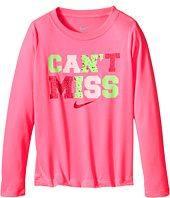 Nike Kids - Can't Miss Long Sleeve Dri-Fit Jersey Tee (Little Kids)