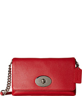 COACH - Polished Pebble Leather Crosstown Crossbody