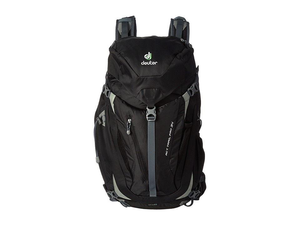 Deuter ACT Trail Pro 34 Black Backpack Bags