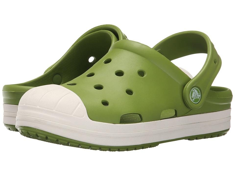 Crocs Kids Bump It Clog Toddler/Little Kid Parrot Green/Oyster Kids Shoes