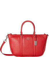 COACH - Pebbled Small Coach Central Satchel