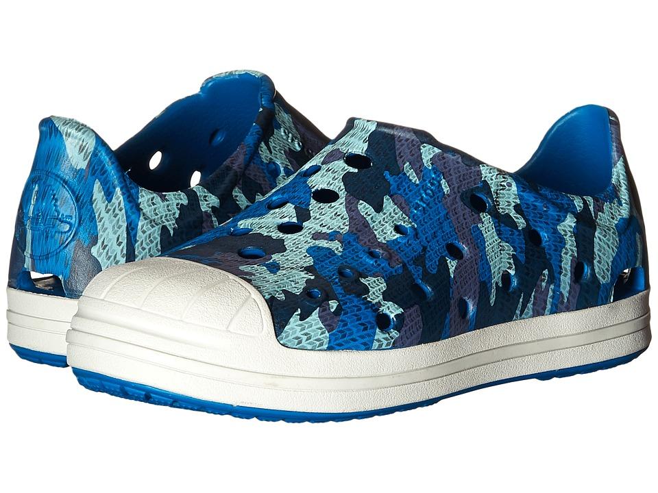Crocs Kids Bump It Camo Shoe Toddler/Little Kid Navy Boys Shoes