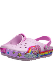 Crocs Kids - CrocsLights Rainbow Heart Clog (Toddler/Little Kid)