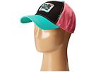 Gypsy SOULE Soule Sister Ball Cap (Black/Pink/Seafoam Green)
