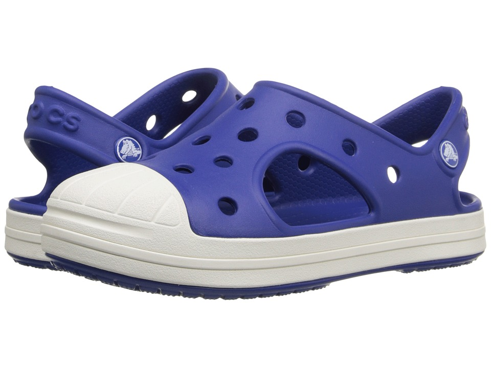 Crocs Kids Bump It Sandal Toddler/Little Kid Cerulean Blue Kids Shoes
