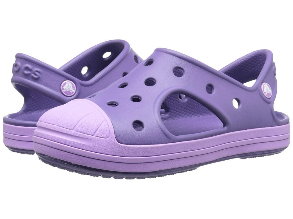 Crocs Kids Bump It Sandal Toddler/Little Kid Blue Violet/Iris Girls Shoes