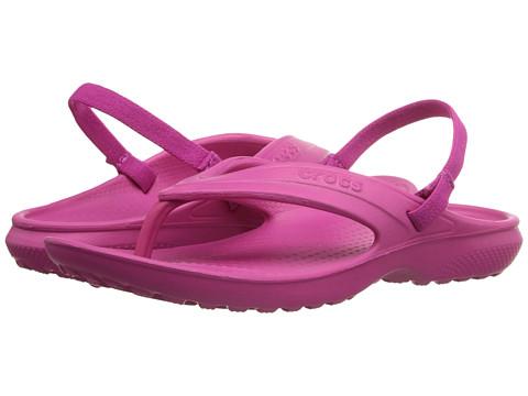 Crocs Kids Classic Flip (Toddler/Little Kid) - Candy Pink