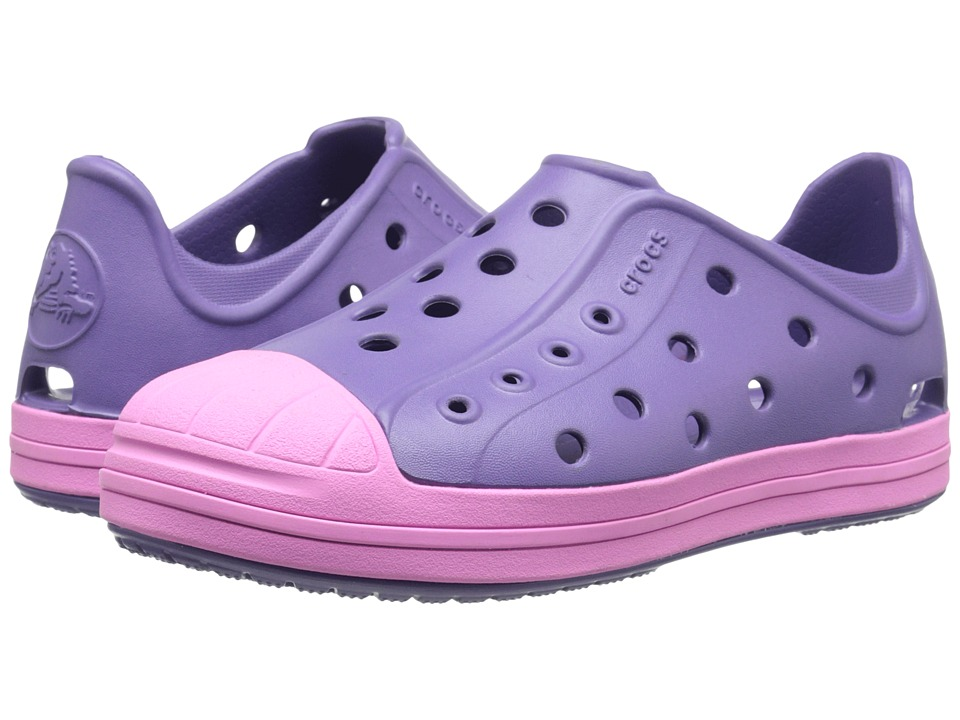 Crocs Kids Bump It Shoe Toddler/Little Kid Blue Violet Girls Shoes