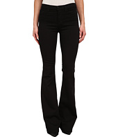J Brand - Maria High Rise Flare in Seriously Black