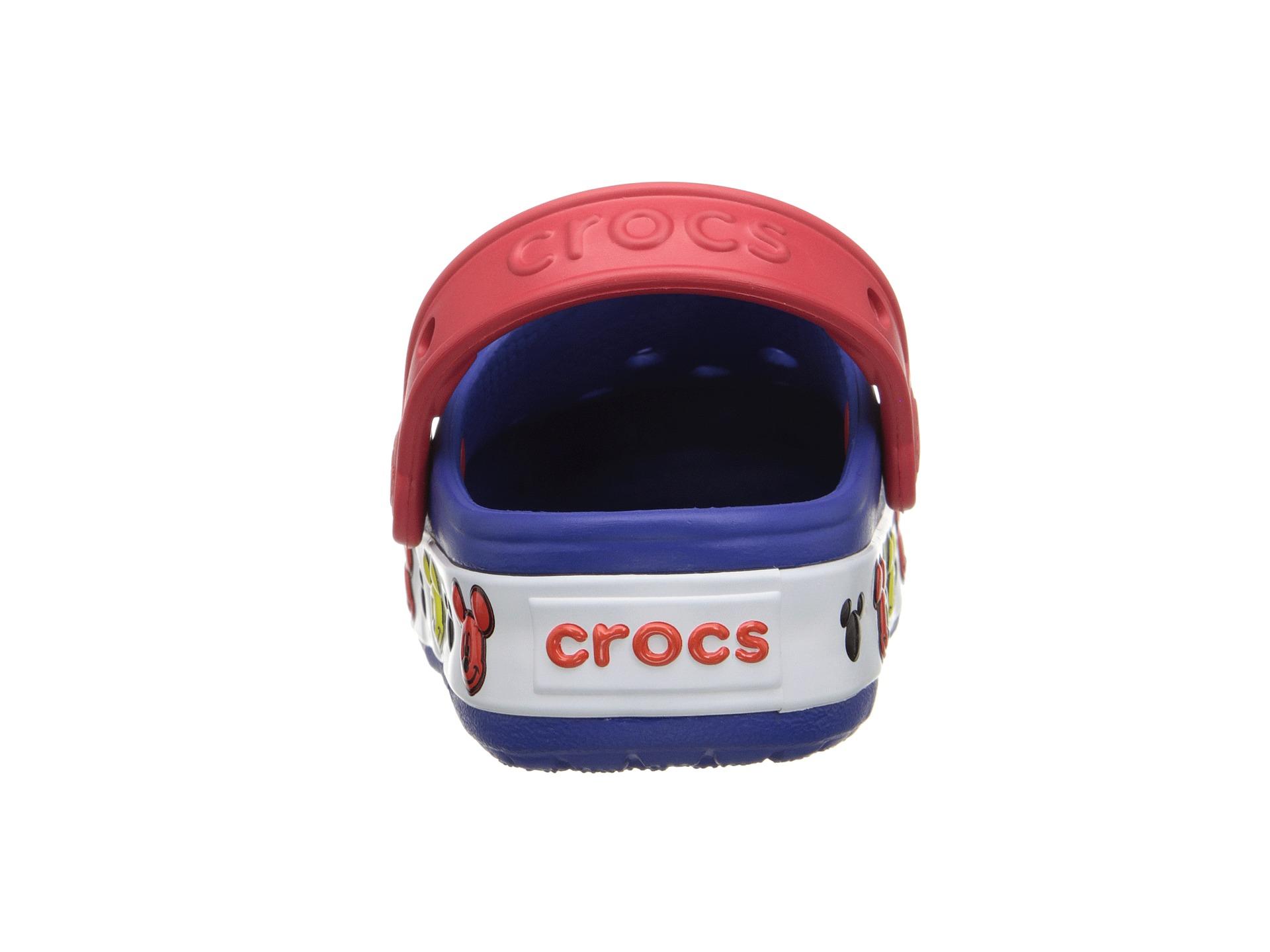 Crocs - Unisex-Erwachsene Crocband Mickey Clog