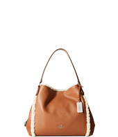 COACH - Shearling Trim Edie 31 Shoulder Bag