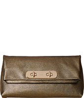 COACH - Metallic Coach Swagger Clutch