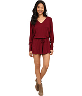 Lucy Love - Rose Bowl Romper in Marsala
