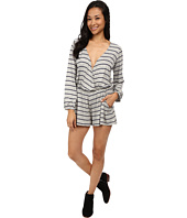 Lucy Love - Savannah Romper in Indigo