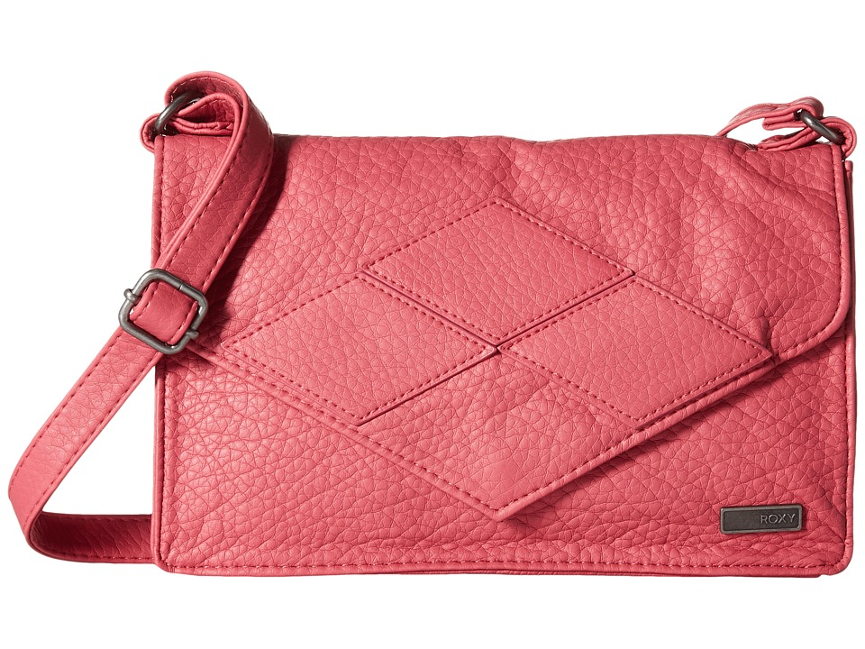 Roxy In The Plan Crossbody Slate Rose Shoulder Handbags