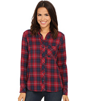 KUT from the Kloth - Collin One-Pocket Plaid Blouse