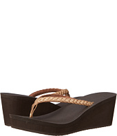 Sanuk - Yoga Braided Wedge Metallic