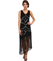Unique Vintage - Tennessee Asymmetrical Fringe Dress
