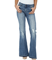 KUT from the Kloth - Elena Super Flare Jeans w/ Released Hem in Organize
