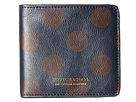 Scotch & Soda Leather Wallet with Zip and Pocket (Black/Brown)