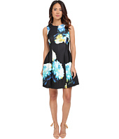 Calvin Klein - Sleeveless Printed Fit & Flare Dress CD5M3R8Y