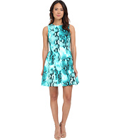 Calvin Klein - Printed Scuba Fit & Flare Dress CD5M6R8Y