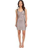 Calvin Klein - Beaded Shoulder Pin Tuck Sheath Dress CD5B2A52