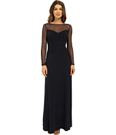 Calvin Klein - Pin Tuck Gown w/ Illusion Yoke and Sleeve CD5B1A80