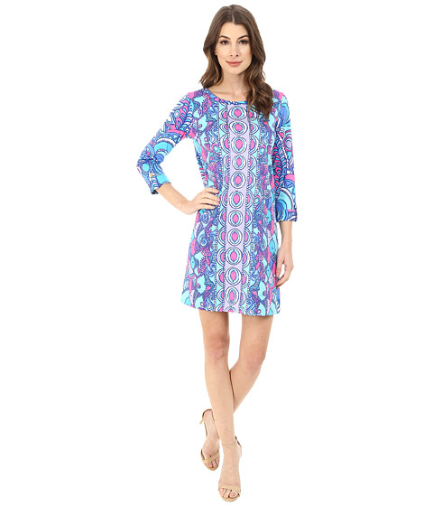 Lilly Pulitzer - Linden Dress (Multi Sea Jewels Engineered) Women's Dress