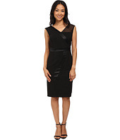 Adrianna Papell - V-Neck Sleeveless Dress