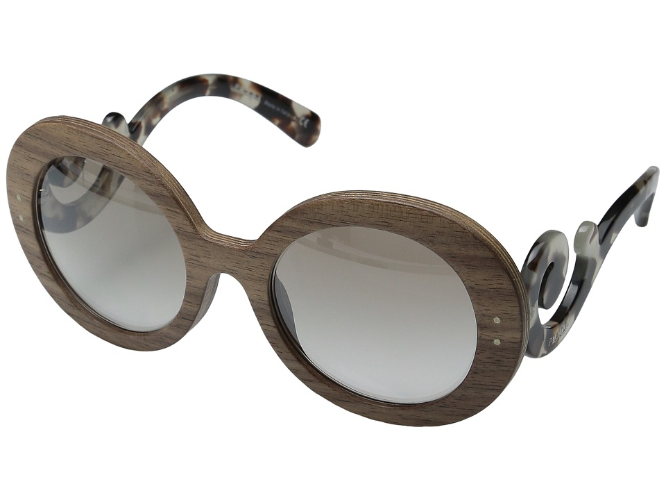 Prada 0PR 27RS Spotted Opal Brown/Brown Fashion Sunglasses