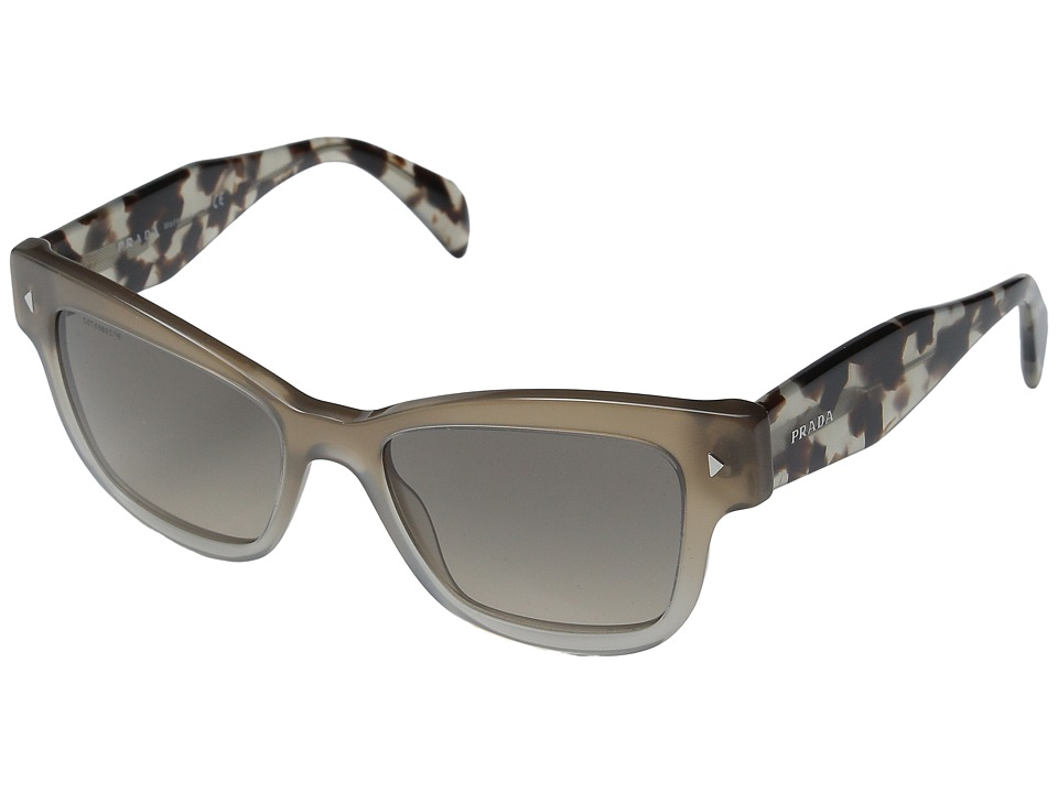 Prada 0PR 29RS Spotted Opal Brown/Gradient Grey Fashion Sunglasses