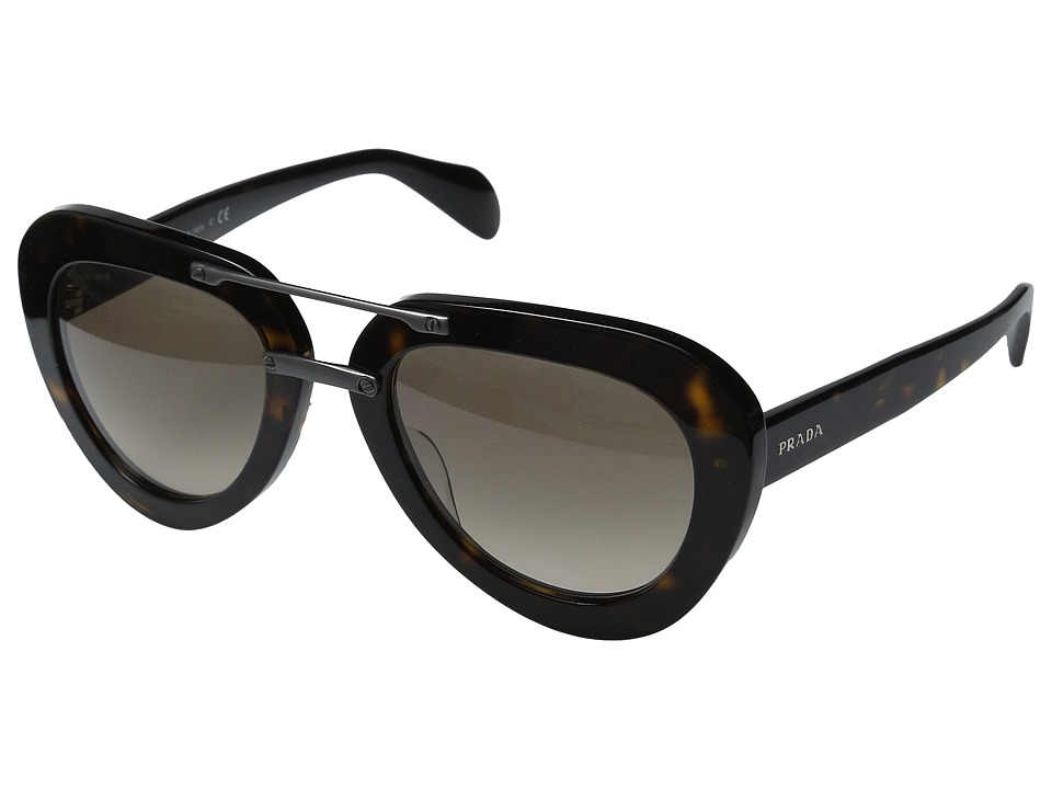 Prada - 0PR 28RS (Havana/Light Brown Gradient) Fashion Sunglasses