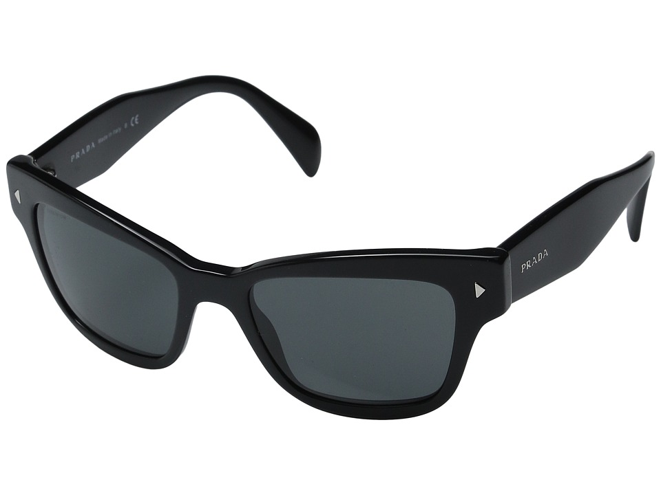 Prada 0PR 29RS Black/Grey Fashion Sunglasses